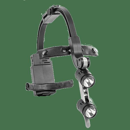 Бестеневой налобный осветитель ITS-X Pro - три варианта поставки